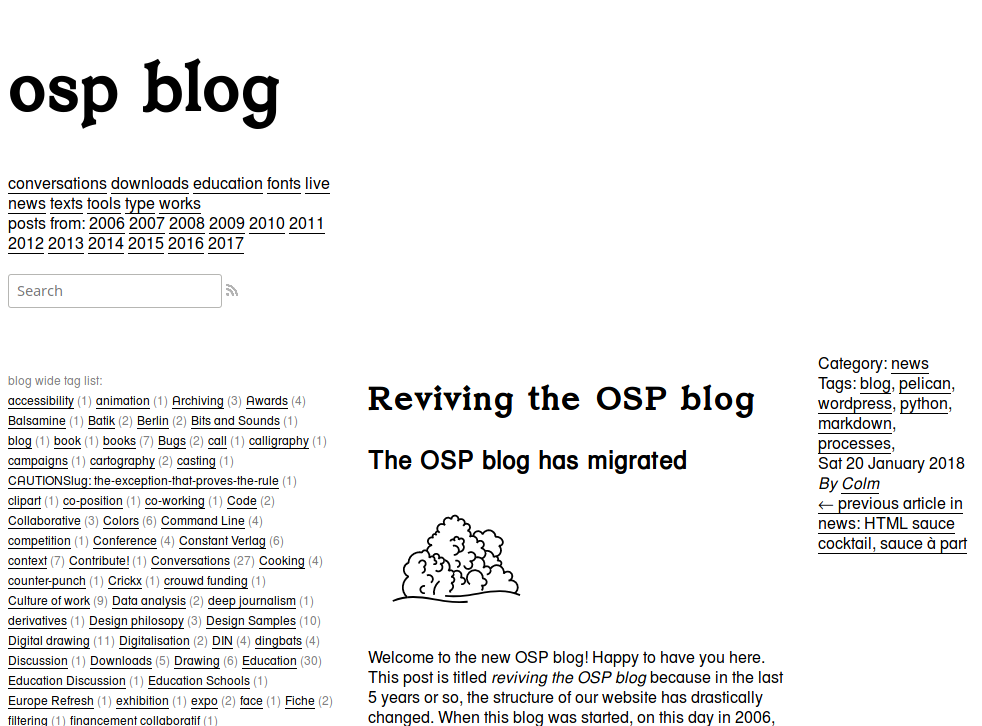 OSP (Open Source Publishing) → you re traveling towards osp-blog ... 8a52e7b7d13a8